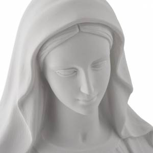 Statue Vierge Miraculeuse poudre de marbre 100 cm s7