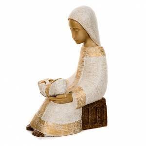 Presepe Bethléem: Vergine col bimbo Natività Contadina
