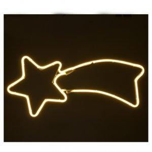Stella luminosa  240 led luce calda tubo led neon s2