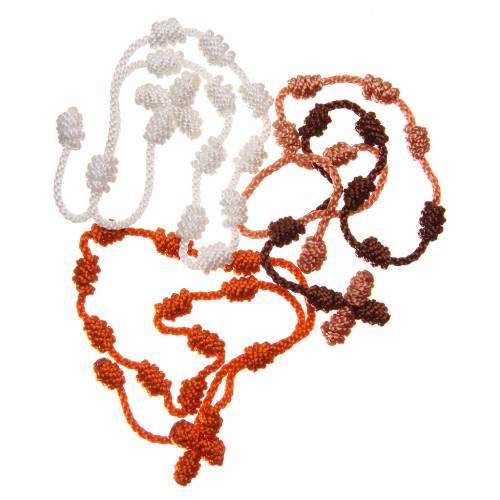 STOCK Bracelet basque en corde couleurs assorties s2