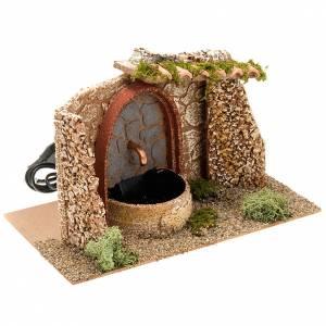 STOCK, Fuente eléctrica con tejas en terracota 2,5V s3