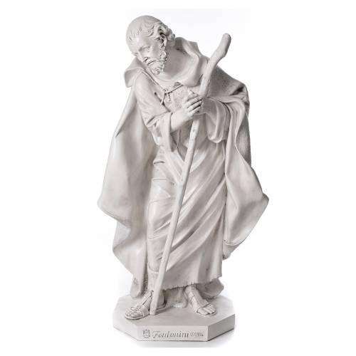 Stock Nacimiento 125 cm resina Fontanini acabado Carrara s2