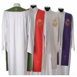 Priesterstolen: STOCK Stola Jubilaeum der Barmherzigkeit mit Logo