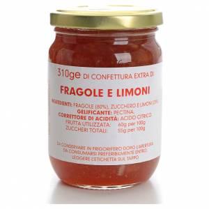 Jams and Marmalades: Strawberry and lemon jam of the Carmelites monastery 310g