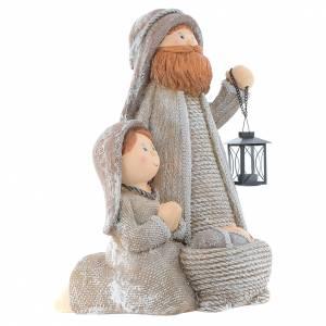 Stylised Nativity in resin measuring 60cm s3