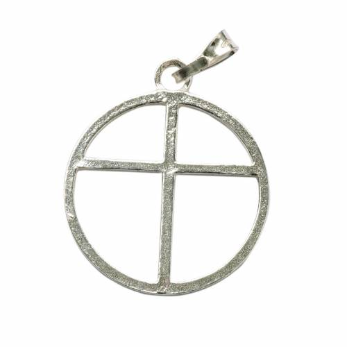 Sun cross pendant in silver 800 online sales on holyart sun cross pendant in silver 800 aloadofball