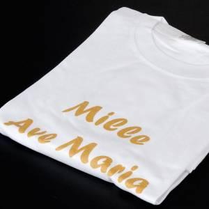 Projet Eleonora et Père Silvano: T-shirt  'Mille ave Maria' Projet Eleonaora