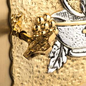 Tabernacle laiton fondu doré eucharistie s5