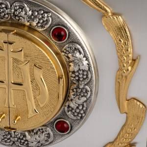 Tabernacolo IHS ottone, immagine bronzo s4