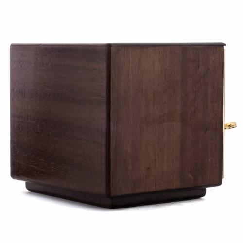 Tabernacolo mensa Moltiplicazione Pani legno ottone s5