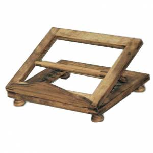 Book stands: Table lectern in wood