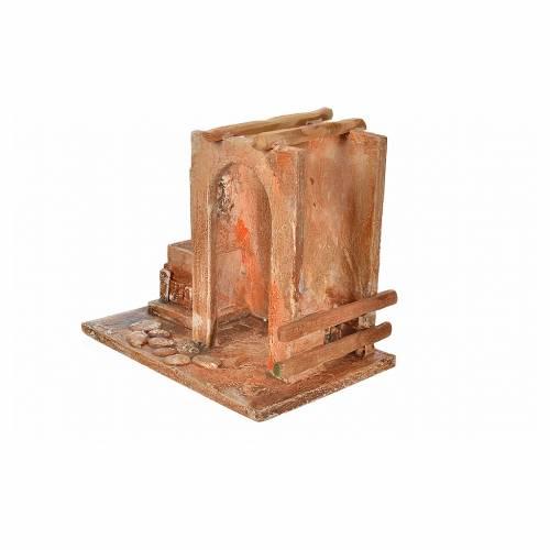 Étable pour la crèche Fontanini 12 cm s3
