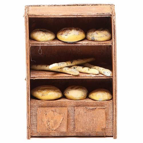 Étagère pour pain pour crèche 12 cm s1