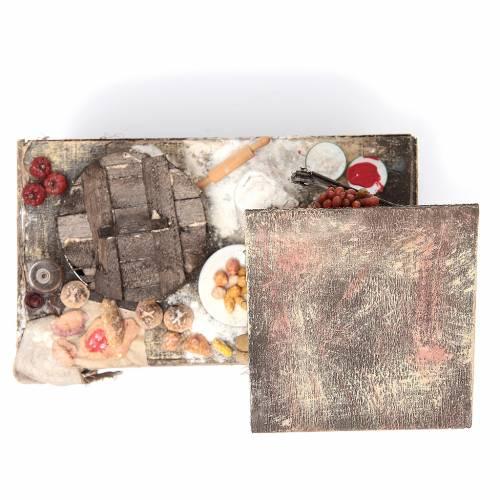 Étalage pizzaïolo 41x22,5x15 cm s5