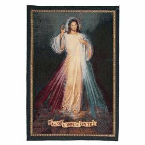 Tapestries: Tapestry Jesus I confide in you inspiration 65x45 cm