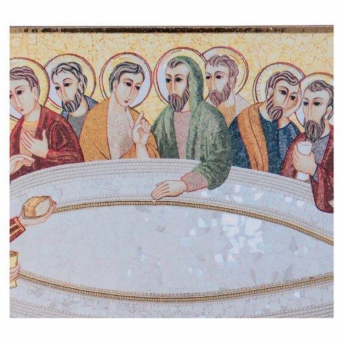 Tavola stampa Rupnik Ultima Cena 10x15 cm s2