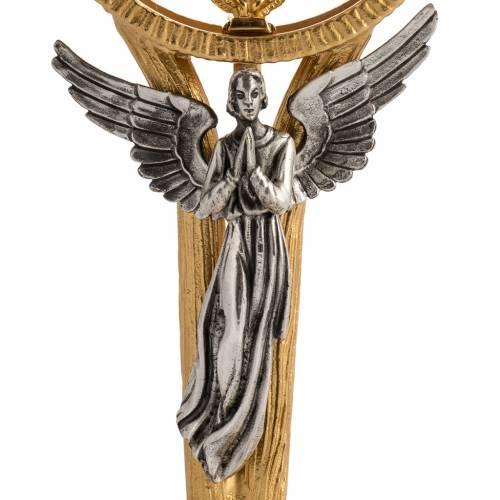Teca hostia magna con ángel s2