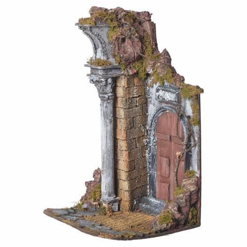 Tempio porta marrone cm. 20x20x40 s2