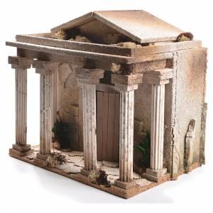 Tempio presepe 33x35x25 cm s3