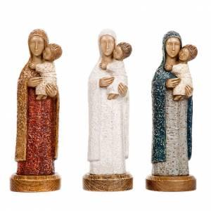 Stone statues: The Eleousa Virgin