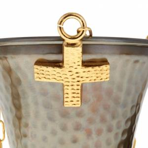 Thurible and boat in embossed bronze s3