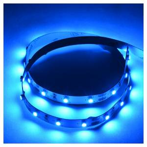 Controladores para el Belén: Tira de LED Power 'PS' 45 LED 0.8 x 75 cm. azul Frial Power