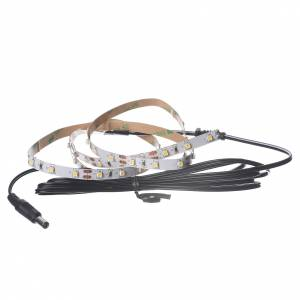 Controladores para el Belén: Tira de LED Power 'PS' 60 LED 0.8 x 100 cm. blanco caliente Fria