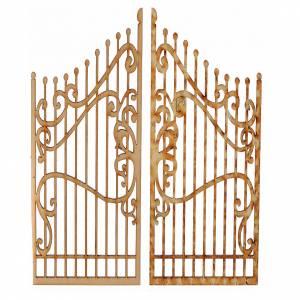 Türen, Geländer: Tor für Krippe 2St. 15x7,5cm