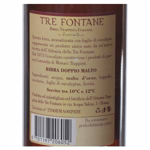 Trappist beer and Abbey beer: Trappist beer, Tre Fontane Monastery 33cl