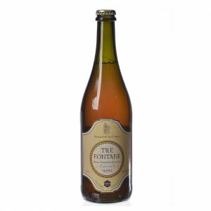 Trappist beer and Abbey beer: Trappist Monk beer, Tre Fontane Monastery 75cl