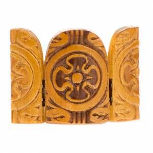 Íconos estampados madera y piedra: Tríptico varias imágenes