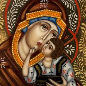 Trittico Russia dipinto 18 x 12 cm s2