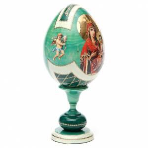Uovo découpage Russia Odigitria Gorgoepikos tot h 20 cm stile Fabergè s4