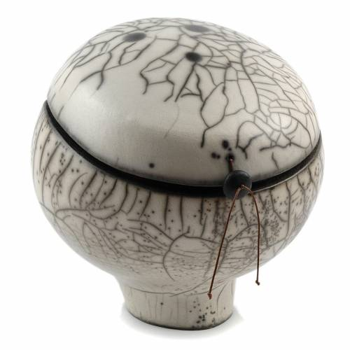 Urna Funeraria naked Raku Ball 1/5 s2