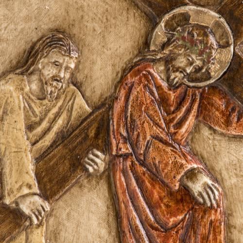 V estación Vía Crucis piedra Bethléem s2
