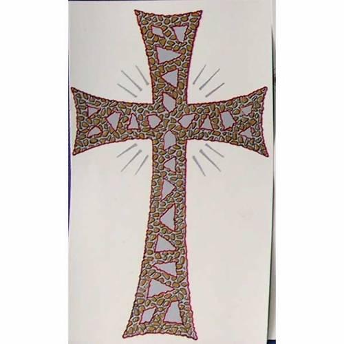 Vela Pascual: calcomanía cruz gloriosa s1