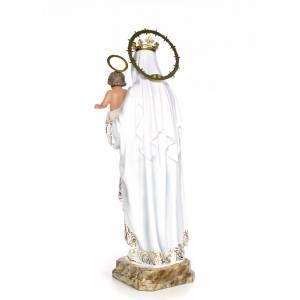 Vergine della Mercede 80 cm pasta di legno dec. elegante s3