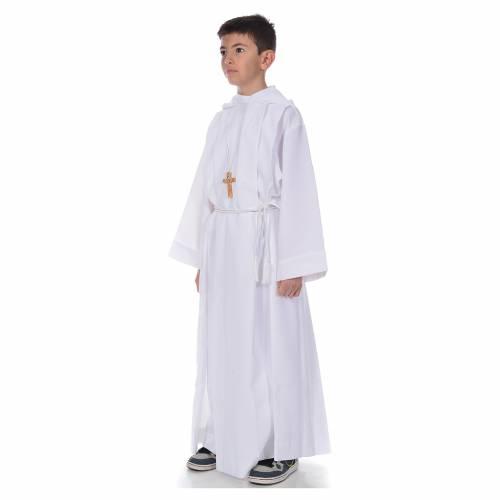Vestido con capucha de Primera Comunión s2