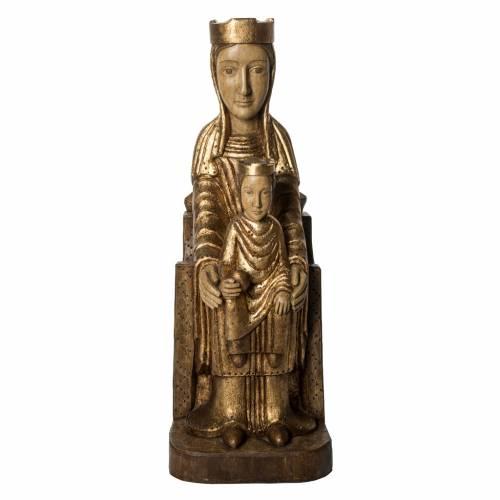 Vierge Couronnée de Séez 66 cm or Bethléem s1
