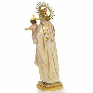 Vierge du Carmel 40 cm pate à bois fin. extra s3