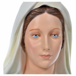 Vierge Immaculée 180 cm fibre de verre colorée s6