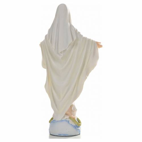 Vierge Miraculeuse 26cm résine peinte s3