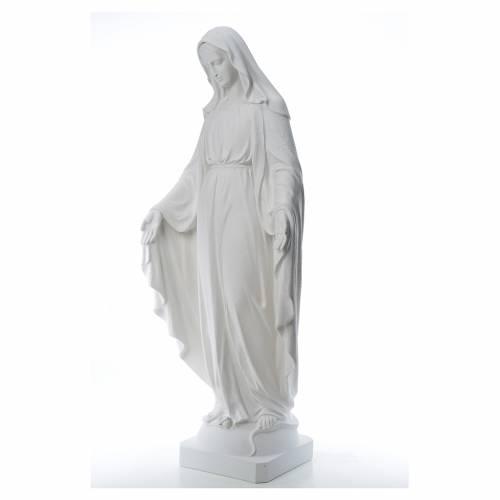 Vierge Miraculeuse poudre de marbre 130 cm s2