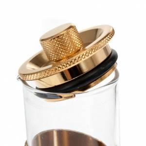Vinajeras Metal: Vinajeras herméticas doradas