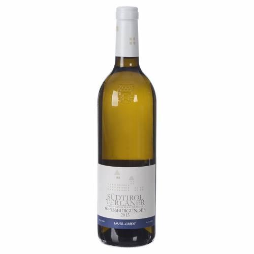 Vino Pinot Bianco di Terlano DOC 2015 Abbazia Muri Gries 750 ml s1