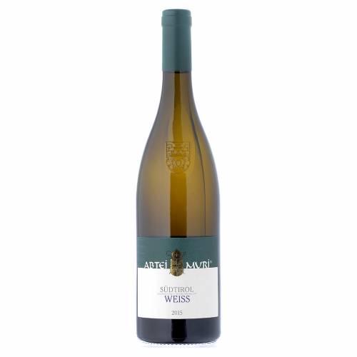 Vino Weiss bianco DOC 2015 Abbazia Muri Gries 750 ml s1