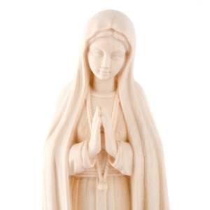 Imágenes de madera natural: Virgen de Fátima