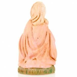 Figuras del Belén: Virgen María de rodillas 8 cm.