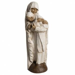 Stone statues: Virgin Mary and Jean Paul II stone statues 56 cm, Bethlehem Nuns