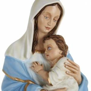 Fiberglass statues: Virgin Mary with infant Jesus, fiberglass statue, 80 cm